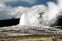 Old Faithful, Yellowstone 2010